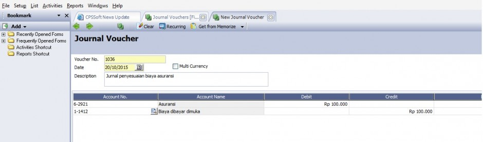 Contoh jurnal vouchers accurate 4